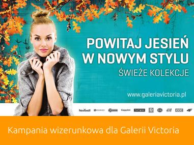 Jesienna kampania Galerii Victoria