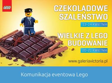 Event Lego w Galerii Victoria