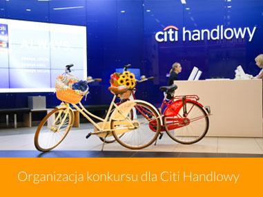 Organizacja konkursu dla Citi Handlowy